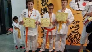 CS Karate Dinamic, 22 de medalii la CN pe echipe SKDUN