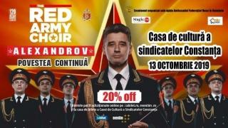 CORUL ALEXANDROV revine în România
