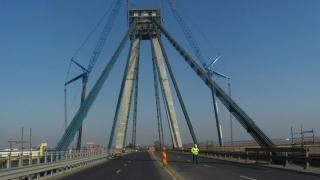 Directorul CNADNR, dezamăgit de cum merg lucrările la podul de la Agigea