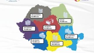 Aproape 700 mii de doze de vaccin Pfizer sosesc luni în România, din care peste 80 de mii vor ajunge la Constanța