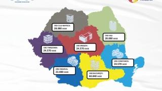 Încă 214.110 doze de vaccin Pfizer BioNTech vor fi livrate luni în România, din care peste 10% la Constanța