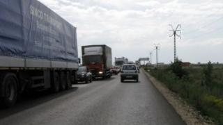 Restricții de tonaj pe DN 7, între Pitești și Râmnicu Vâlcea, în zilele 23 – 24 ianuarie 2019