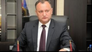 Dodon cere SUA să sprijine recunoaşterea neutralităţii permanente a R. Moldova
