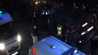 DOLIU NAȚIONAL în Macedonia: 14 oameni morți într-un accident