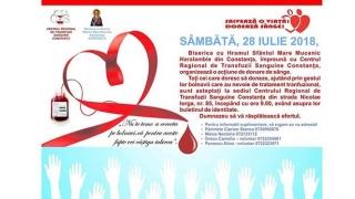 Biserica se implică! Veniți să donați sânge!