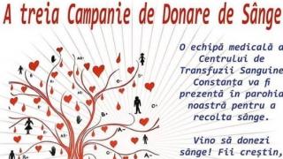 E nevoie de sânge! Biserica ''Sf. Vasile cel Mare'' și CRTS organizează o nouă campanie de donare