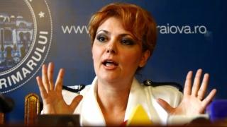 Dosarul de corupție al primarului Lia Olguța Vasilescu, întors la Tribunalul București