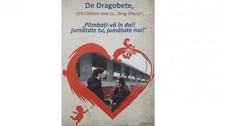 CFR Călători: Drag-Oferte de Dragobete!