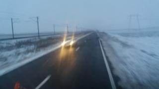 DRDP Constanta: Starea drumurilor,18 decembrie, ora 12:00