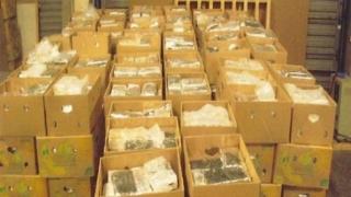 Peste 1.100 de kilograme de droguri, confiscate de poliţişti anul trecut