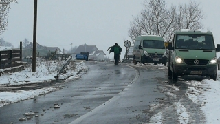 Cum au acționat drumarii în sud-estul țării. Situația pe șosele și autostrăzi