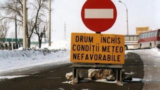 Avertizare de polei în Dobrogea. Drumurile ar putea fi închise