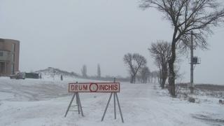 Drum închis între Hârșova și Ciucurova