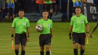 Arbitri din Letonia, Belgia și Franța pentru CFR, FCSB și U. Craiova