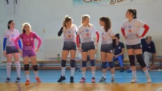 Al treilea succes pentru fetele de la Academia de Volei Tomis Constanța