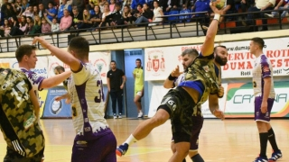 Seria pozitivă pentru HC Dobrogea Sud a luat sfârşit la Turda