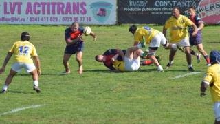 Rugbyştii de la CS Tomitanii Constanţa şi CS Năvodari vor evolua pe teren propriu