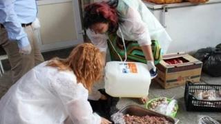 Tone de carne și pește, retrase de la vânzare de inspectorii DSV