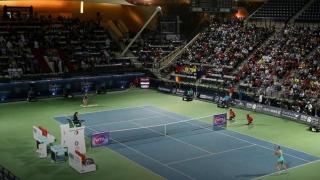Irina Bara s-a calificat în optimi, la dublu, la Dubai