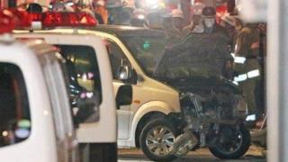 Act terorist la Tokyo: o dubă a intrat intenţionat în mulţime