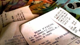 Extragerea bonurilor fiscale aferente lunii octombrie