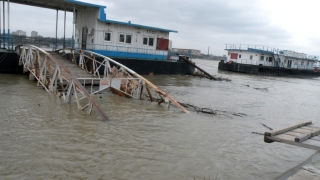 Cod portocaliu de inundații pe Dunăre