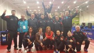 România s-a oprit în sferturile CM de tenis de masă la feminin