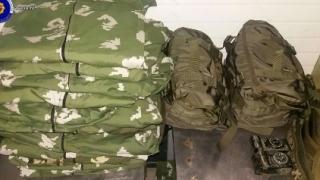 Echipament militar rusesc, capturat la graniţa cu România