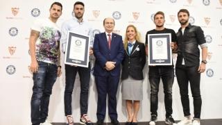Echipa spaniolă FC Sevilla a intrat în Cartea Recordurilor