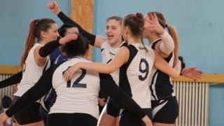Formațiile constănțene de volei feminin joacă pe teren propriu în play-off-ul Diviziei A2