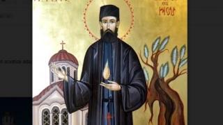 Trei ierarhi la sfințirea mare a bisericii din Horia