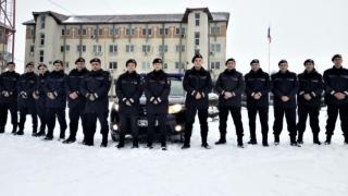 Elevi ai școlilor de jandarmi, în practică la Inspectoratul de Jandarmi Constanţa