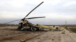 Cel puţin opt morţi după prăbuşirea unui elicopter militar în Afganistan