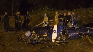 Patru polițiști brazilieni, morți după prăbușirea unui elicopter peste o favelă