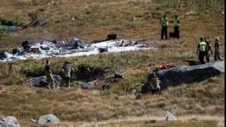 Doi morţi, în urma prăbuşirii unui elicopter militar în Elveţia