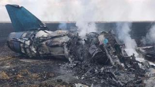Tragedie la Borcea! Un avion MiG 21 LancerR, prăbușit în timpul unui show aviatic