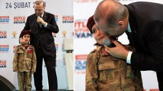 """Erdogan a îndemnat o fetiţă să """"moară ca un martir""""! Controverse puternice"""