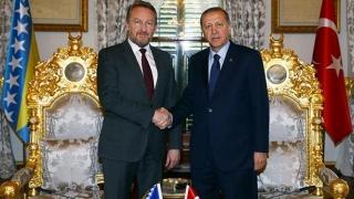 Erdogan îşi face campanie la... Sarajevo! O atmosferă electrizantă