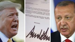 Scrisoarea lui Trump, aruncată la gunoi de Erdogan