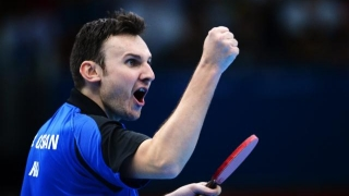 Jucătorii români de tenis de masă au debutat cu dreptul la Europenele de la Budapesta