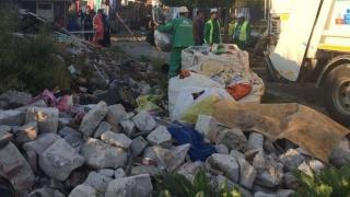 Evacuare cu scandal la Constanța! Tabere de romi, rase de pe fața pământului