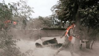 Evacuare totală în Guantemala! Vulcanul Fuego face prăpăd!