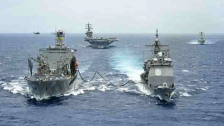 China și Rusia încep luni, în Marea Chinei de Sud, ample exerciții comune ale forțelor navale