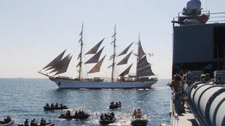 Exerciții militare la malul mării, de Ziua Marinei