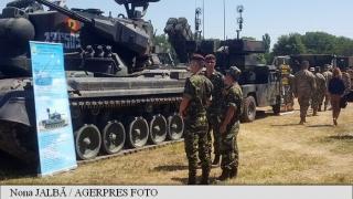 Festivitate la baza militară Mihail Kogălniceanu, la finalul exercițiului Tobruq Legacy 2017