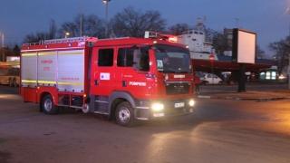 Exercițiu dur: vagoane de tren deraiate, în Gara Constanța! 50 de persoane, rănite!