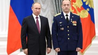 Exercițiu de imagine pentru Putin