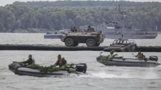 TAB scufundat în Dunăre! Nu e tragedie, e exercițiu!