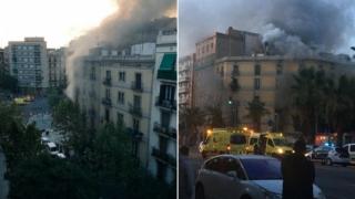 Explozii puternice și zeci de răniți la Barcelona!