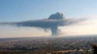 Explozii și fum negru la o uzină chimică din Texas